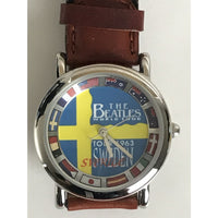 Beatles Officially Licensed Sweden 1964 Watch - New Vintage - Music Memorabilia