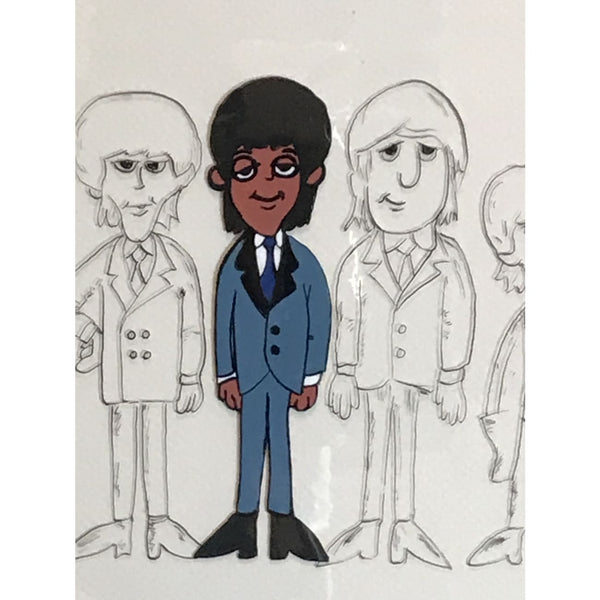 Beatles Original 1965-69 Cartoon Series Animation Cel - RARE