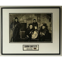 Beatles Photo Collage Signed by Pete Best with Cavern Club brick (w/COA)