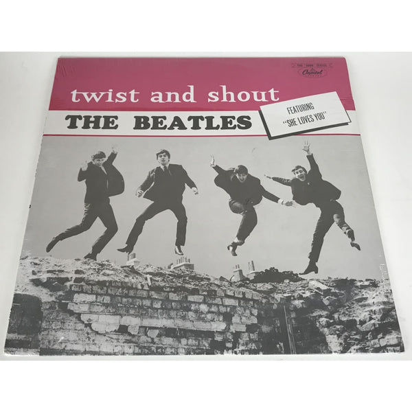 Beatles Twist And Shout LP - 1972 Canada Issue NEW Sealed - Music Memorabilia