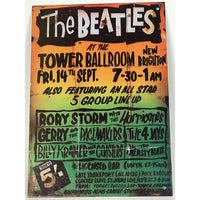 Beatles Vintage Tower Ballroom Metal Decor Plaque - Music Memorabilia