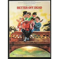 Better Off Dead Movie Collage