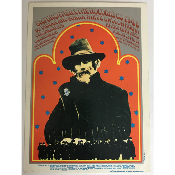 Big Brother & the Holding Company FD-77 Handbill 8/24-27 1967