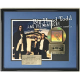 Big Head Todd and the Monsters Sister Sweetly RIAA Gold Album Award - Record Award
