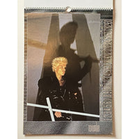 Billy Idol Vintage Calendars - 1985 and 1990