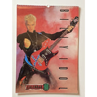 Billy Idol Vintage Calendars - 1985 and 1990 - 1990