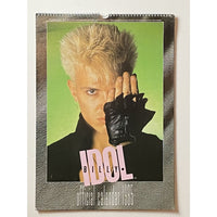 Billy Idol Vintage Calendars - 1985 and 1990 - 1985
