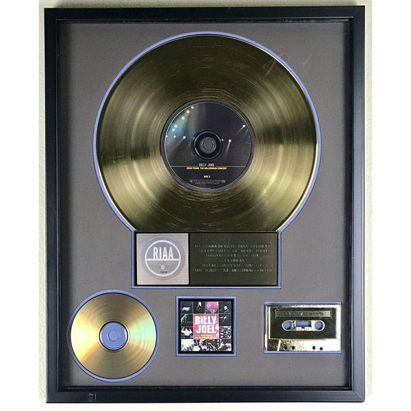 Billy Joel 2000 Years Millennium Concert RIAA Gold Award