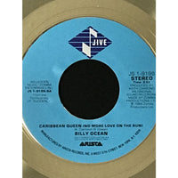 Billy Ocean Caribbean Queen (No More Love On The Run) Jive label award - Record Award