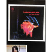 Black Sabbath Collage Signed by Ozzy Osbourne w/Epperson LOA