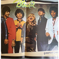 Blondie European 1980 Tour Book - Music Memorabilia