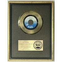 Blondie Heart Of Glass RIAA Gold 45 Single Award