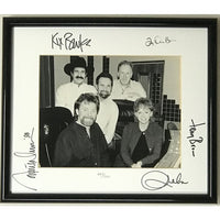 Brooks & Dunn Reba McEntire + 2 Autographed Limited Edition Photo w/BAS LOA - Music Memorabilia Collage