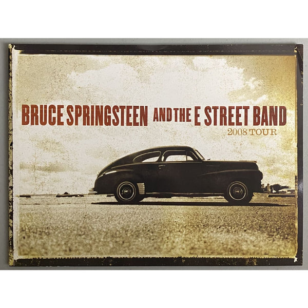 Bruce Springsteen and the E Street Band 2008 Tour Program - Music Memorabilia
