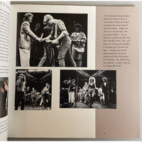 Bryan Adams 1987 Into The Fire Tour Book - Music Memorabilia