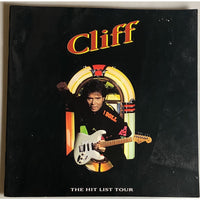 Cliff Richard 1986 The Hit List Tour Program - Music Memorabilia