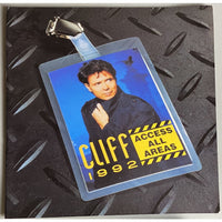 Cliff Richard 1992 Access All Areas Tour Program - Music Memorabilia