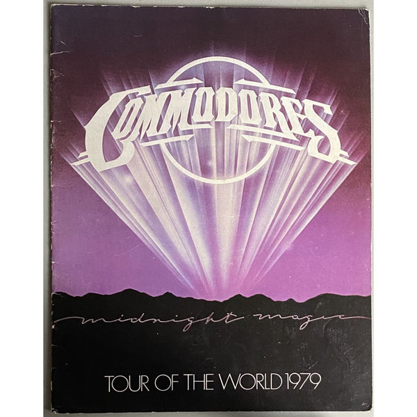 Commodores Tour of the World 1979 Tour Program - Music Memorabilia