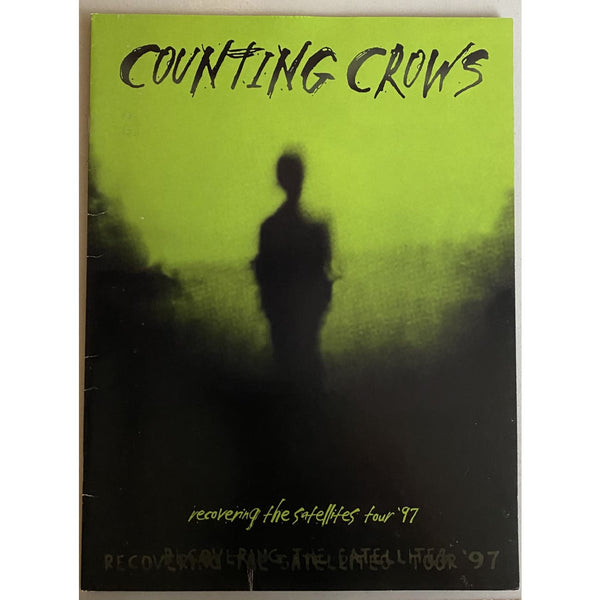 Counting Crows 1997 Recovering the Satellites Tour Book - Music Memorabilia