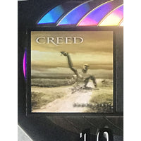 Creed Human Clay RIAA 10x Platinum Award