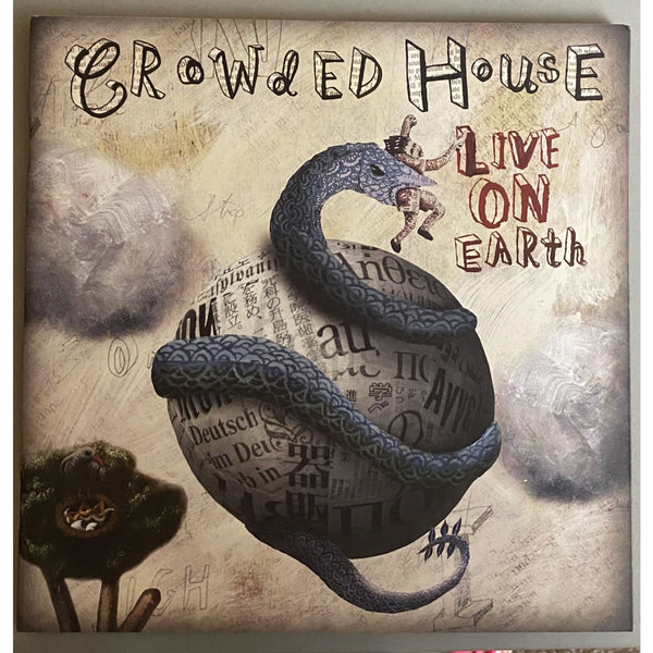 Crowded House 2007 Live On Earth Tour Book - Music Memorabilia