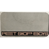 Custom Cell Phone Cases - Large Screen Models - Pet Shop Boys Logo Side B