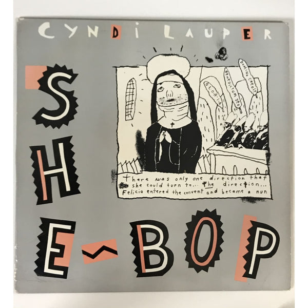 Cyndi Lauper Original Acetate for She Bop Dance Mix (1984) - RARE