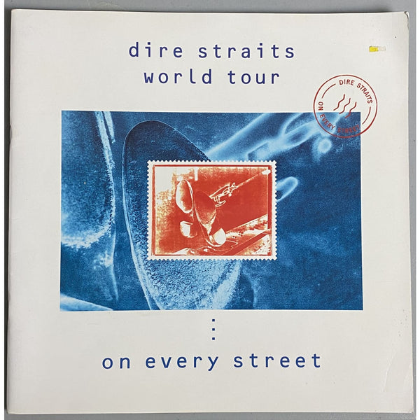 Dire Straits 1991 World Tour - On Every Street Tour Program - Music Memorabilia