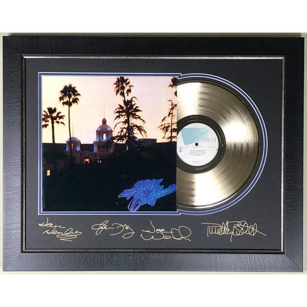 Eagles Hotel California Gold Record Collage