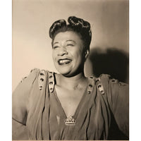 Ella Fitzgerald Original Grammy Advertisement Collage