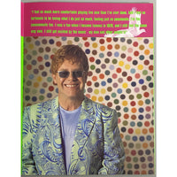 Elton John 2001 Songs From the West Coast Tour Program - Music Memorabilia