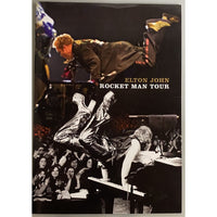 Elton John 2009 Rocket Man Tour Program with Ticket - Music Memorabilia