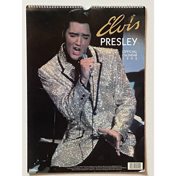 Elvis 1993 Official Calendar