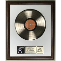 Elvis Presley As Recorded At Madison Square Garden Label Gold Award