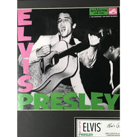 Elvis Presley Debut Gold Record Collage