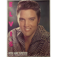 Elvis Presley Now and Forever Promo Poster 1987