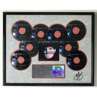 Garth Brooks The Hits RIAA 8x Multi-Platinum Album Award