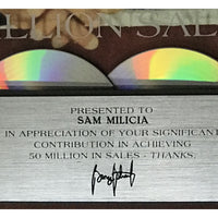 George Strait 50x Platinum Label Award