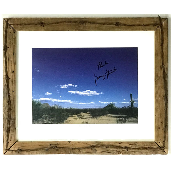 George Strait Autographed Limited Edition Photo w/BAS LOA - Music Memorabilia Collage