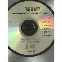 Guns N Roses Appetite For Destruction RIAA 18x Multi-Platinum Award presented to Guns N Roses - RARE