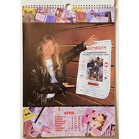 Iron Maiden Vintage Calendars - 1985 1991 and 1993