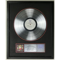 Janes Addiction Ritual de lo habitual RIAA 2x Platinum Album Award