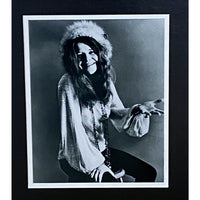 Janis Joplin Woodstock Genuine Ticket Collage - Music Memorabilia Collage