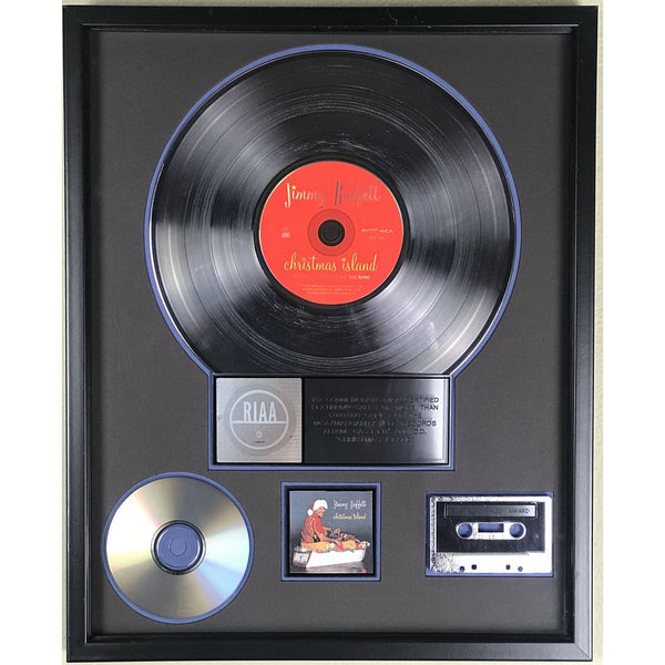 Jimmy Buffett Christmas Island RIAA Platinum Album Award