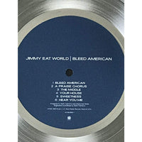 Jimmy Eat World Bleed American RIAA Platinum Award - Record Award