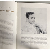 Johnny Mathias 1961 UK Tour Program - Music Memorabilia