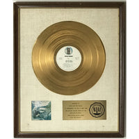 Joni Mitchell For The Roses White Matte RIAA Gold LP Award - RARE - Record Award