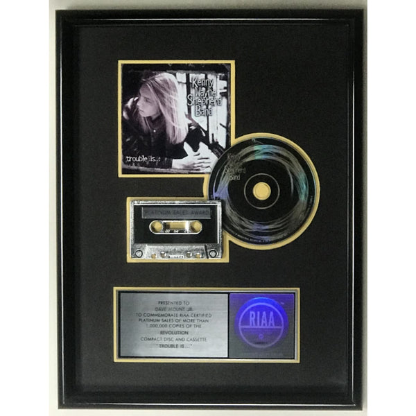Kenny Wayne Shepherd Trouble Is... RIAA Platinum Album Award