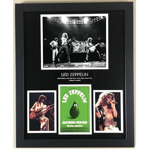 Led Zeppelin Handbill Memorabilia Collage