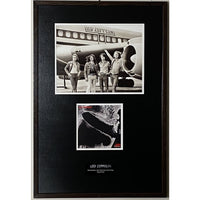 Led Zeppelin I Album Art & Classic Airplane Photo